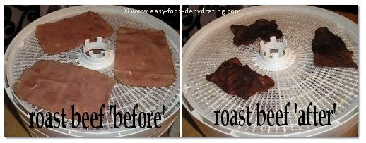 dehydrated beef